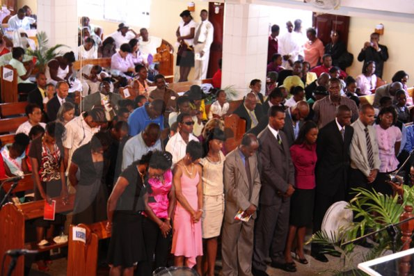 Portmore seventh day adventist church on saturday october 3 2009