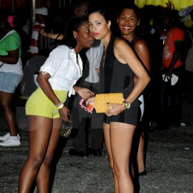 Winston Sill / Freelance Photographer Bacchanal Jamaica Fridays fete, held at Mas Camp, Stadium North on Friday night March 15, 2013.
