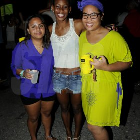 Winston Sill / Freelance Photographer Bacchanal Jamaica Fridays final fete sponsored by Digicel and featured Kes The Band, held at Mas Camp, Stadium North, on Saturday night March 23, 2013.