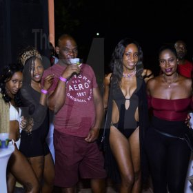 "Anthony Minott/Freelance Photographer Scenes during Unleashed Entertainment's Biki Sunday's Pool Party dubbed: ""Girls Just wanna have fun"" at the Great House, 4A Kirkland Avenue, Kirkland Heights, in St Andrew last Sunday, June 3, 2018."