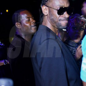Anthony Minott The birthday boy Bounty Killer.