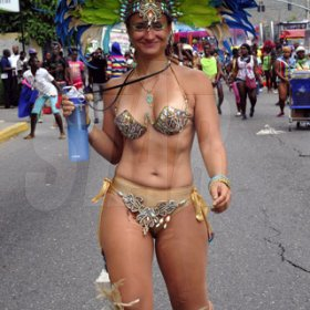 Norman Grindley/Chief Photographer Carnival road march,  April 7, 2013.