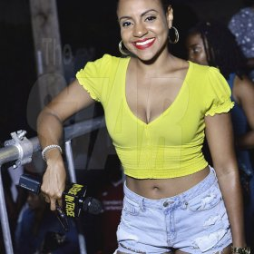 Anthony Minott photos<\n><\n>There ladies were feeling the vibes at Tuesday night's Cross Di Wataz held at the Portmore Mall in St. Catherine.