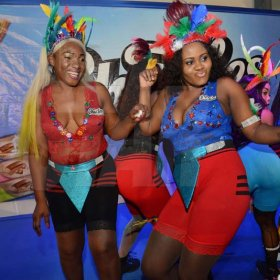 Rudolph Brown/ PhotographerDancers show off their skill at the semi final of the 2018 Charles Chocolates Dancin' Dynamites competition at the Jamaica College Auditorium in Kingston on Saturday May 12, 2018