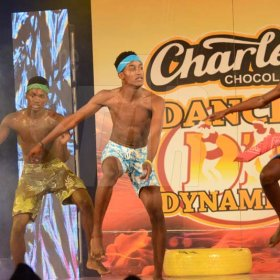 Rudolph Brown/ PhotographerAnchovy High Dancers show off their skill at the semi final of the 2018 Charles Chocolates Dancin' Dynamites competition at the Jamaica College Auditorium in Kingston on Saturday May 12, 2018