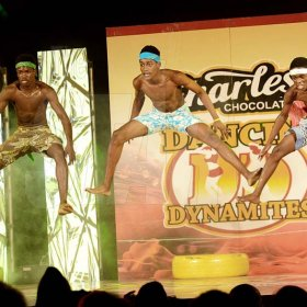 Rudolph Brown/ Photographer<\n>Anchovy High Dancers show off their skill at the semi final of the 2018 Charles Chocolates Dancin' Dynamites competition at the Jamaica College Auditorium in Kingston on Saturday May 12, 2018<\n><\n>