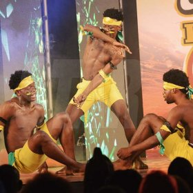Rudolph Brown/ Photographer<\n>O Family Dancers show off their skill at the semi final of the 2018 Charles Chocolates Dancin' Dynamites competition at the Jamaica College Auditorium in Kingston on Saturday May 12, 2018<\n><\n>