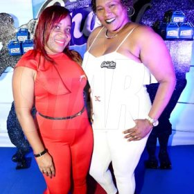 ContributedJanet Benjamin, (left) and Donna Palmer at Charles Chocolates Dancin' Dynamites 2018 Launch at Limelight Nightclub in Half Way Tree on January 6, 2018