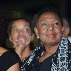 Shorn Hector/Photographer  Minister of Culture, Gender, Entertainment and Sport, Olivia Grange at the Seville Emancipation Jubilee 2018
