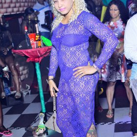 "Anthony Minott/Freelance Photographer<\n>Caution Family's party dubbed: ""A Moment of Fashion at Oneil's Place, 33 Hagley Park Road, St Andrew last Saturday.<\n> *** Local Caption *** @Normal:This blonde bombshell shows off her fashion sense at A Moment of Fashion, at Oneil's Place, Hagley Park Road, St Andrew recently.<\n>"