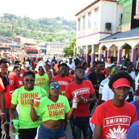 Inaugural Ocho Rios Carnival Road March