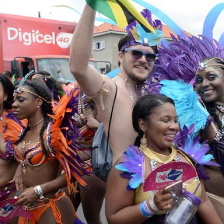 Jamaica Carnival Road March 2016