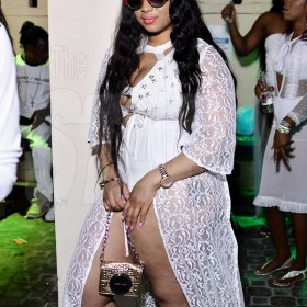Ladies went for 'sex appeal' at Lavish lifestyle Pool party (Photo highlights)