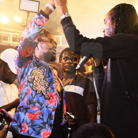 Popcaan's album launch