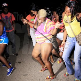 Anthony Minott/Freelance Photographer Scenes during Pon Di Spot Fridayz, Drewsland, in St Andrew recently.