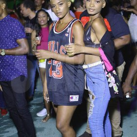 Anthony Minott  BLONDE BEAUTIES: Sisters, Mariah and Rachell take a quick pic
