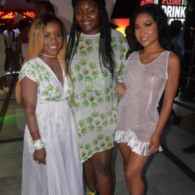 From left Stacy-Ann Johnson, Anetta Mahoney and Oceannea Piele all rocking the stylish Aneita Mahoney clothing