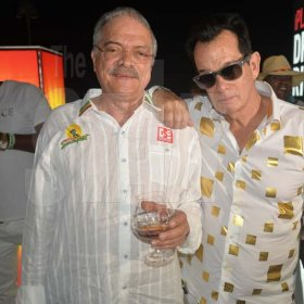 Reggae Sumfest's very own Robert Russell and Josef Bogdanovich