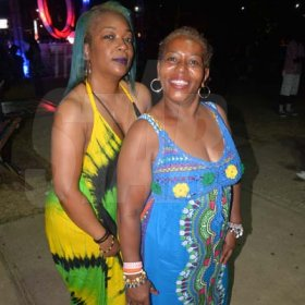 Sisters Porscha Lewis and Yvette Cotton