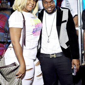 Anthony Minott/ Freelance Photographer   Scenes from Tallman's birthday celebration, Double Dose of Sexiness, that was hedl at McMasters Roof, Portmore Mall, in St Catherine, last Saturday.